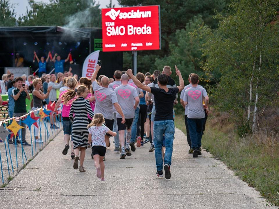 Socialrun 2020: SMO Breda loopt een alternatieve route