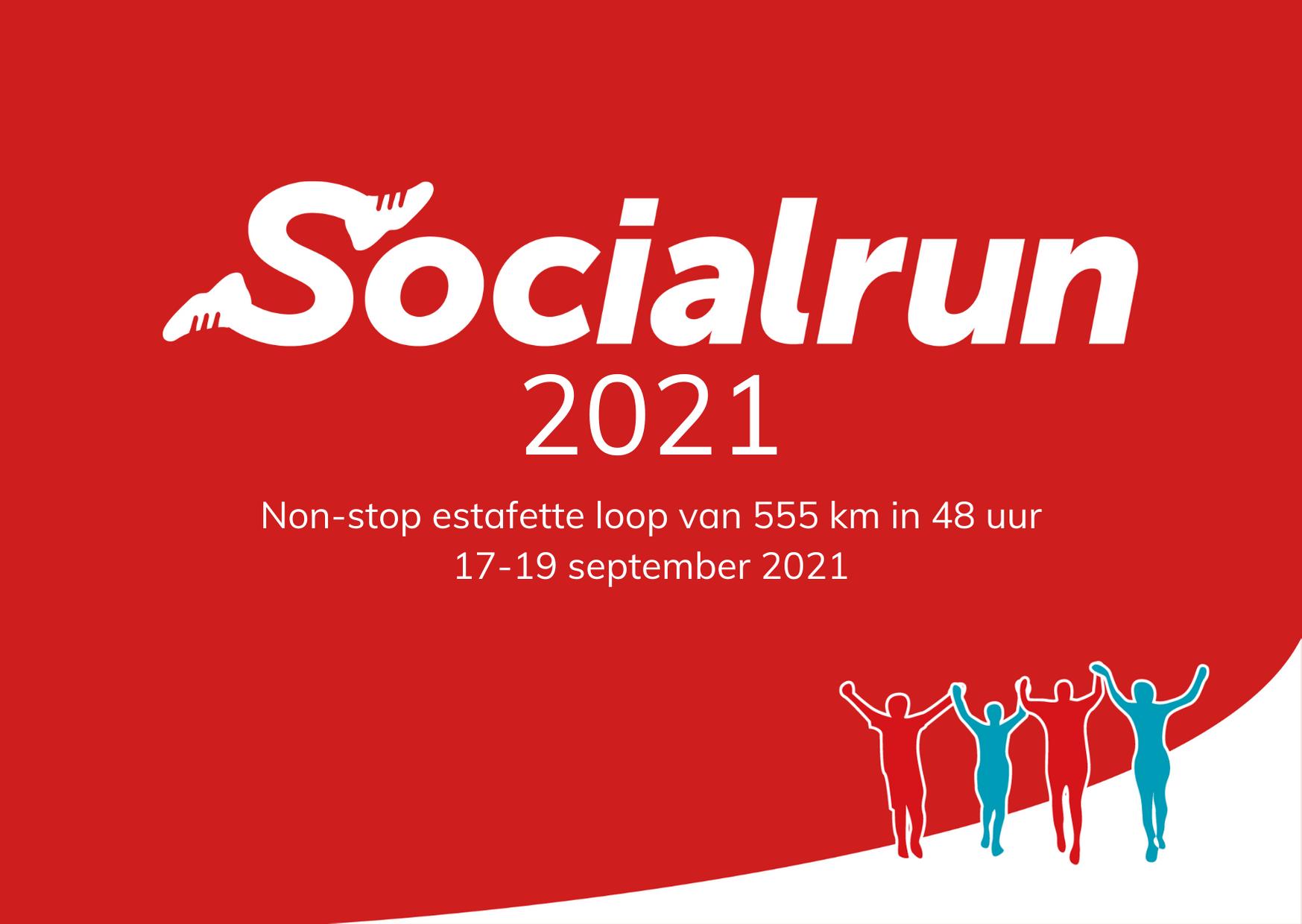 Socialrun 2021: wij zijn er klaar voor!